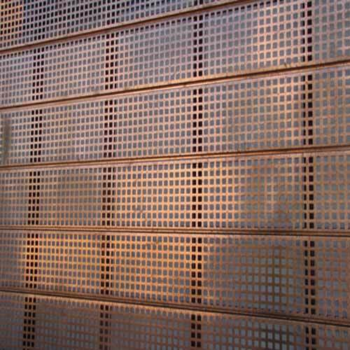 Perforated Sheet Copper